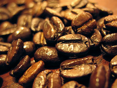 Espresso coffee beans  Addiction #2 (olu) Tags: brown coffee canon cafe beans flavor fb espresso caffeine addiction a630
