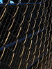 Links in the Dark (Barstow Steve) Tags: night fence chainlink utata:project=nocturnal2