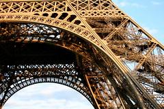 Eiffel Tower Detail. Ornate.