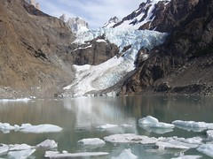 Fitz Roy - trek - glacier piedras blancas - lagune