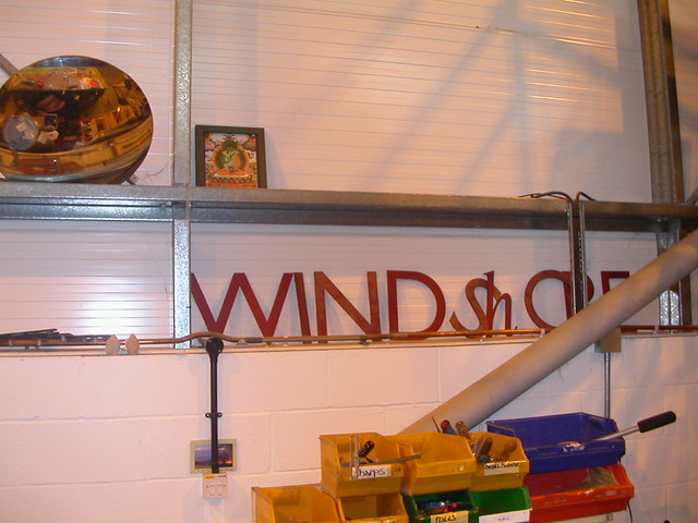 Windhorse sign   yesterday's logo
