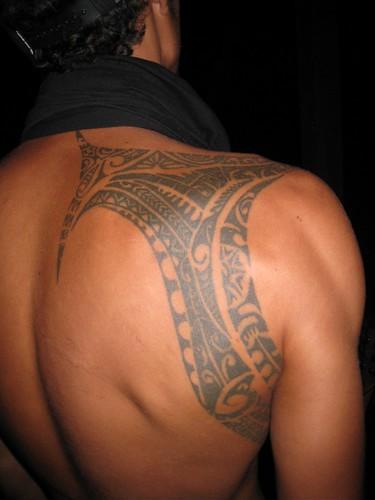Cool Cook Island tattoo. Rarotonga
