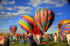 Balloons Rising (StuffEyeSee) Tags: colors canon spring balloon may 2008 hotairballoons hdr balloonfestival 2exp colorphotoaward eos40d eriecolorado vistaridgegolfcourse