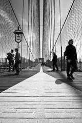 guideline black and white (richietown) Tags: nyc newyorkcity blackandwhite bw topf25 topv111 topv555 topv333 stock brooklynbridge getty topv777 richietown addtoimagekind