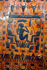 CAI JE29612, Maatkare, D21a, BeG, (outer) LOM5 solar child between deities, SVI0107 web (CESRAS) Tags: egypt tip burial coffin dynasty thebes bce d21 usurped 21a riec theban horemachet cesras babelgasus maatkare 1070945 21athebandynasty1070945bce