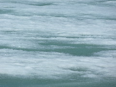 Mendenhall Glacier slushee