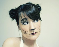 feline (enjoythelittlethings) Tags: silly girl cat self facepainting kitty meow mfimc facecanvas