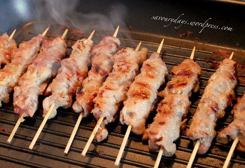 Thịt xiên nướng 4