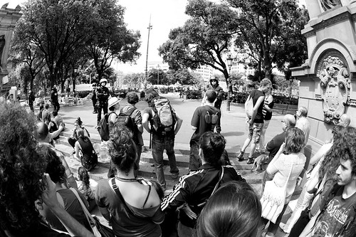 27 Mayo desalojo de la Acampada Barcelona
