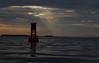 Sunrise bouy (mikecullivan) Tags: clouds sunrise maine buoyant cascobaybouy