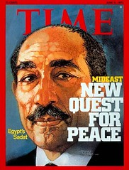 President Sadat on the cover of the time for the second time (Kodak Agfa) Tags: people history media egypt cover magazines timemagazine egyptians coverboy