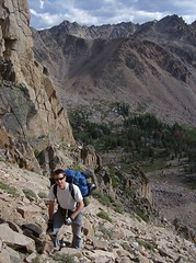 22 going down the Devil's Staircase (philthy54) Tags: cloud white mountains fishing hiking idaho