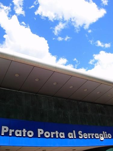 Insegna - Stazione - Prato Porta Serraglio - Prato
