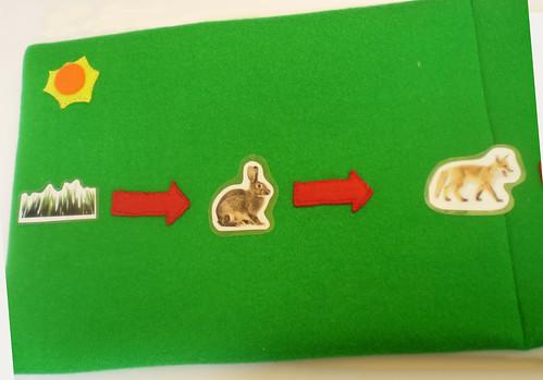 cadena alimenticia. bolso cadena alimenticia 1