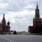 Moscow: St. Basile's Cathedral and Kremlin