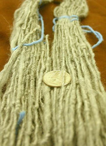 My first handspun yarn!