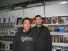 Claudio Sciarrone e Diggy