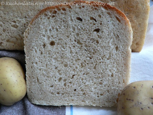 Tender Potato Bread - kuechenlatein.com