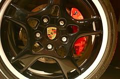 Porsche Wheel at LA Auto Show 2007