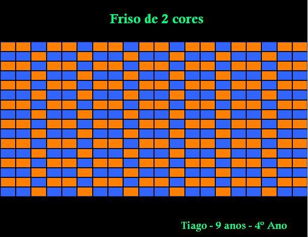 Tiago friso de 2 cores 2