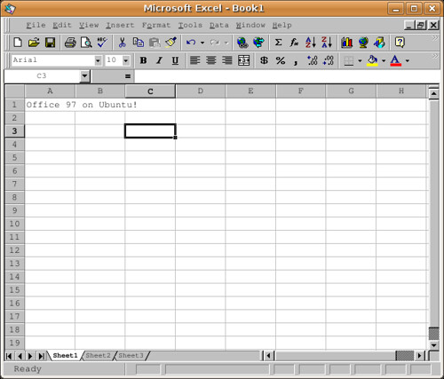 Screenshot-Microsoft Excel - Book1 [Photo by Collin Anderson] (CC BY-SA 3.0)