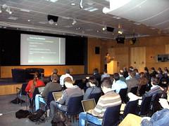 iand giving presentation