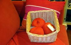 lana arancio