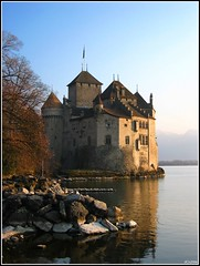 Chateau de Chillon (dani.Co) Tags: trip lake castle history switzerland nikon holidays geneva explore chillon chateau leman fortress lordbyron montreux themoulinrouge magicdonkey explored 25faves platinumphoto danico aplusphoto diamondclassphotographer megashot searchandreward theperfectphotographer thegardenofzen goldstaraward ostrellina danicophoto