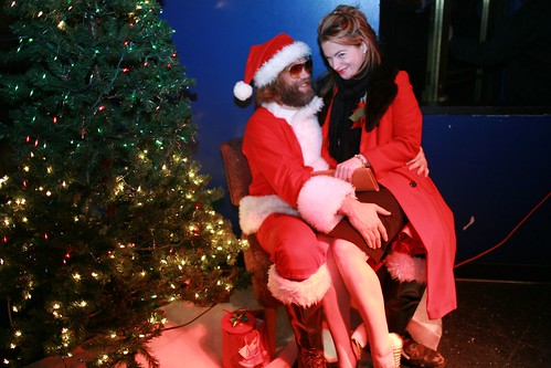 Santa + Flotard photo by Laura Musselman