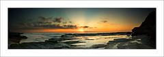 Turimetta Panorama (The Sage of Shadowdale) Tags: ocean panorama beach water sunrise d50 waves stitch australia pacificocean nsw photomerge soe 1855mmf3556g warriewood superbmasterpiece turimetta