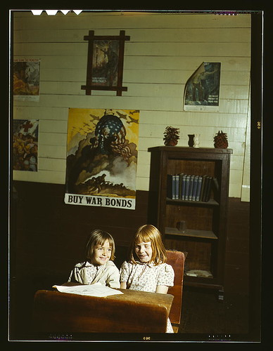 Rural school children, San Augustine County, Texas (LOC)