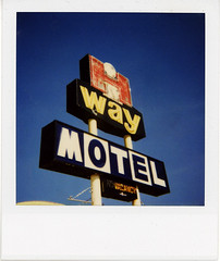 HiWay Motel Portage MB (highwaygirl67) Tags: sign polaroid roadtrip manitoba 600 hotelmotel portagelaprairie
