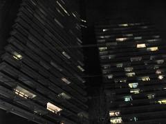 isles of light (glasseyes view) Tags: nightshot cologne kln uni hochhaus wohnheim glasseyesview