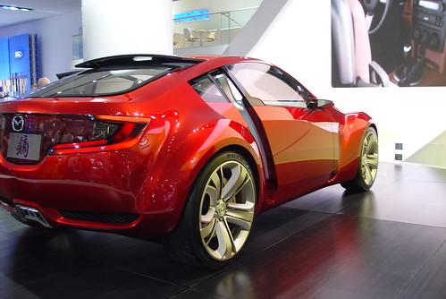 Mazda at Detroit Autoshow