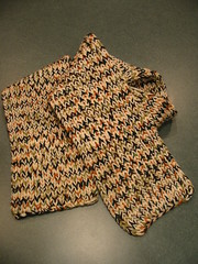 Variated scarf for Jeremy