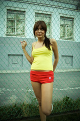 Football girl (Geshpanets) Tags: girl football russia