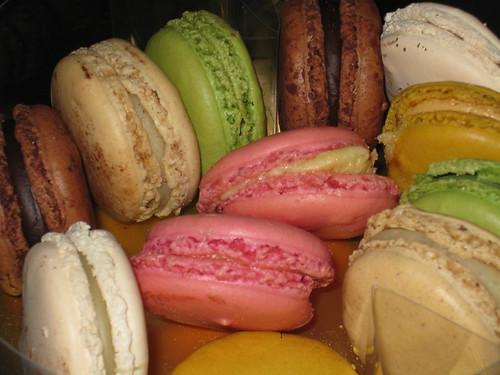 Yum! Mmm! Macarons!