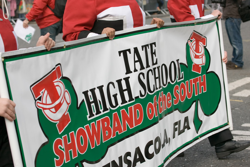 "TATE HIGH SCHOOL ""SHOWBAND OF THE SOUTH"""