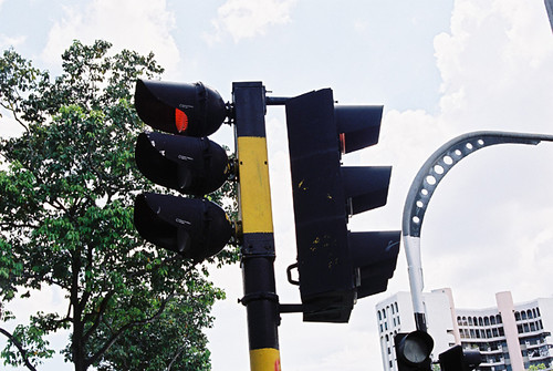 Special GEC traffic light pole Singapore & Siu Kei (??)