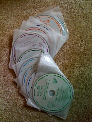 *SOLD*Baby Einstein DVDs - $50