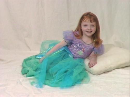 Olivia at 4