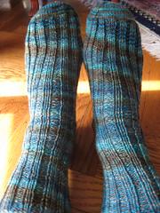 Sea otter socks 1