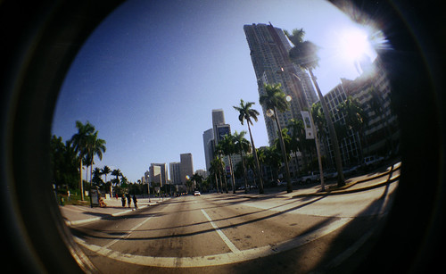 [27,000 views in the photostream] [LOMO] Miami Downtown