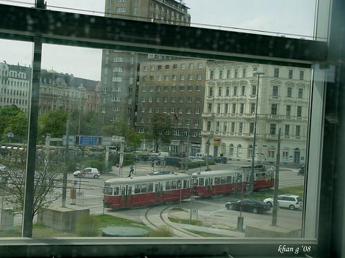 tram in praterstern
