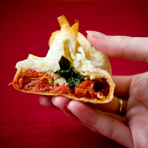 Flaky Pizza Purse