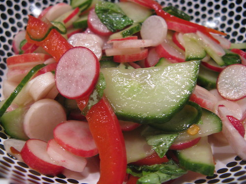 Thai Radish & Cucumber Salad