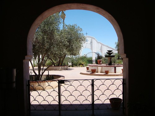 Courtyard: Tucson Mission