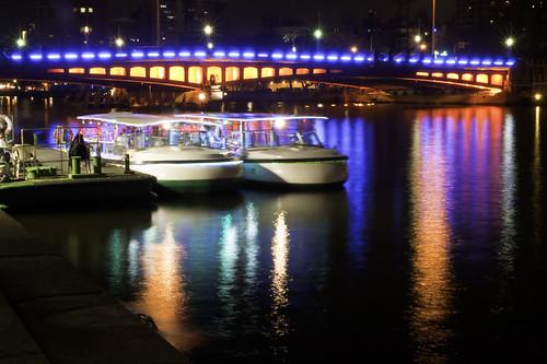 Colorful Bridge Boat Ride 愛河遊船