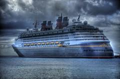 Disney Magic (Walt Disney Imagineering) Tags: world cruise water st wonder mouse boat nikon ship florida magic disney mickey line resort western caribbean walt eastern hdr d3 croix