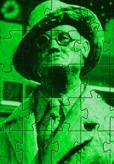 Jigsaw Jimmy (spratpics) Tags: irish irelandinthe1990s ireland jamesjoyce jamesjoyceamanofmanyparts jigsawjimmy irishwriters famouswriters writers literature ulysses dublin
